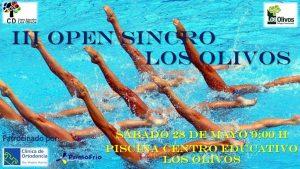 Cartel III Open Los Olivos