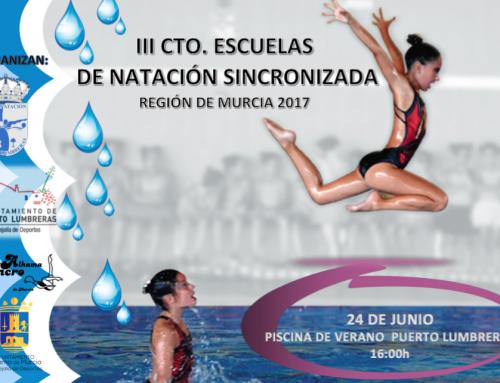 Tercer Escolar de Natación Sincronizada Región de Murcia