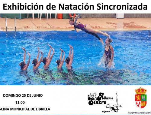 Exhibición en piscina de Librilla