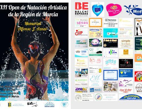 XII Open de Natación Artística de la Región de Murcia