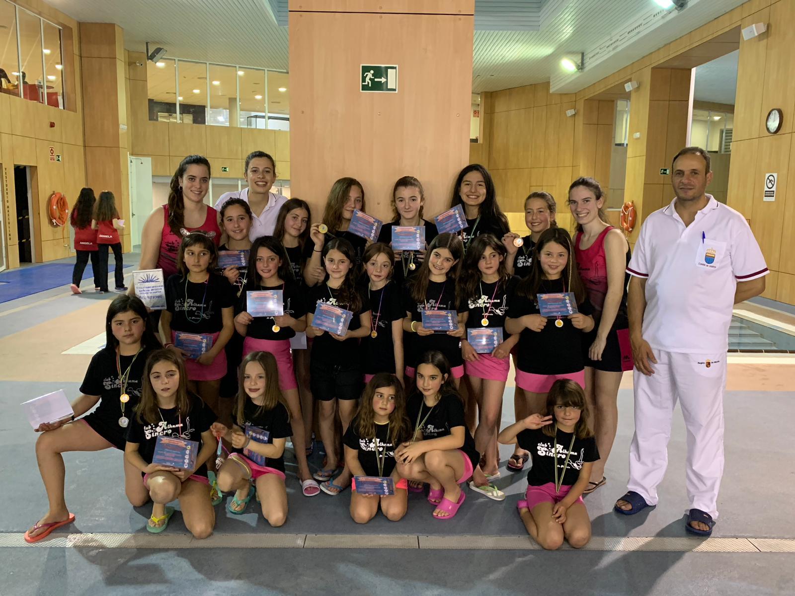 V Campeonato Escolar de Figuras de Natación Artística de la Región de Murcia